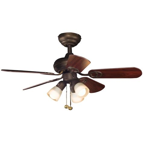 36 outdoor ceiling fan hton bay san marino 36 in led indoor oil rubbed bronze