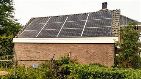 schuur zonnepanelen zonnepanelen solartechniekbrabant