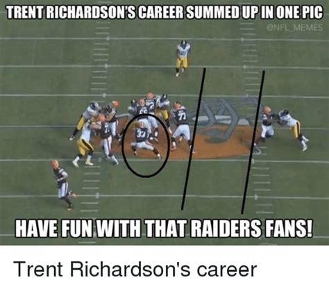 Nfl Memes Raiders - 25 best memes about trent richardson trent richardson memes