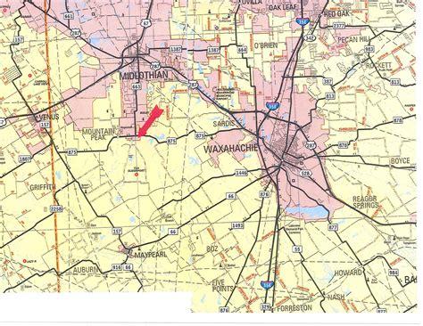 texas fm road map hi view ranch