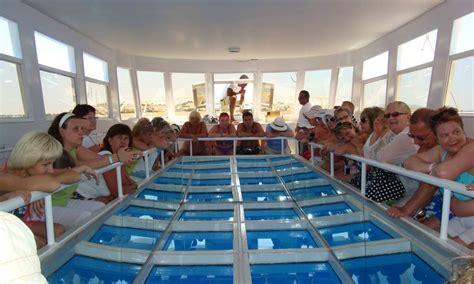 catamaran boat hurghada ehgez masr glass bottom boat trip in hurghada