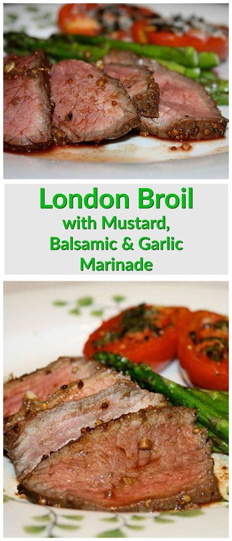 whole30 grain vinegar broil with mustard balsamic vinegar and garlic