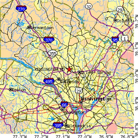 kensington md kensington maryland md population data races