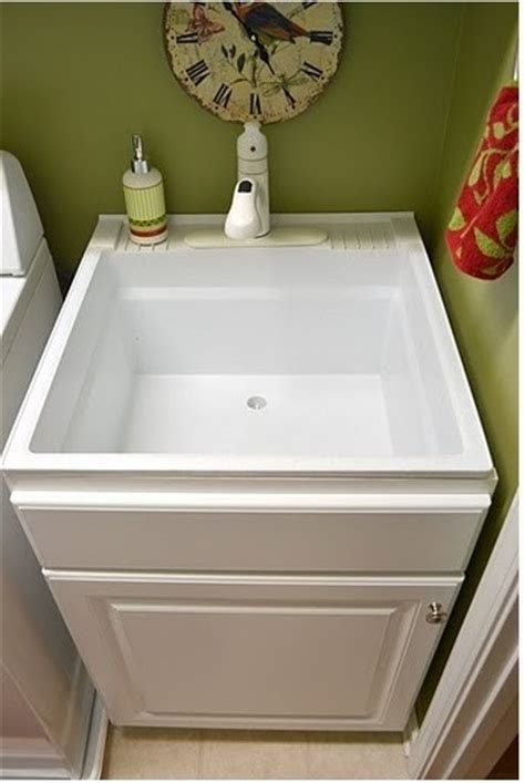 Laundry Room Tub Sink Utility Sink Inside Base Cabinet Laundry Room Pinterest Utility Sink Base Cabinets And Sinks