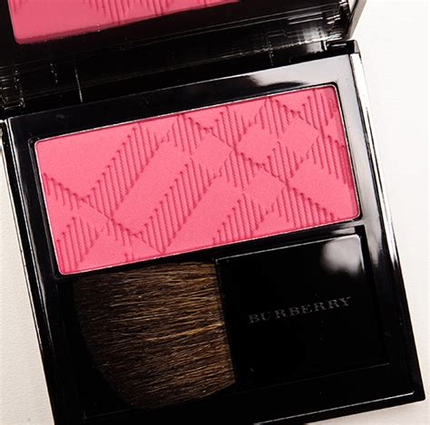 burberry coral pink light glow natural blush review  swatches