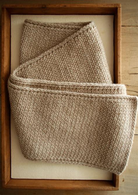 knitting pattern herringbone scarf the purl bee calls it a quot men s mini herringbone scarf but
