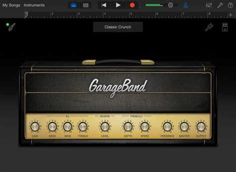 garage band app free garageband on the app store