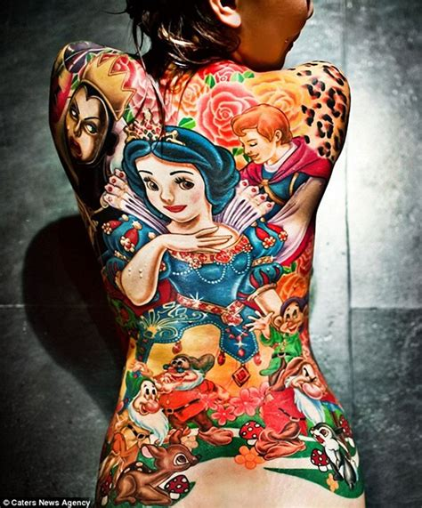 tattooed snow white don t stand there gawping the with the snow white