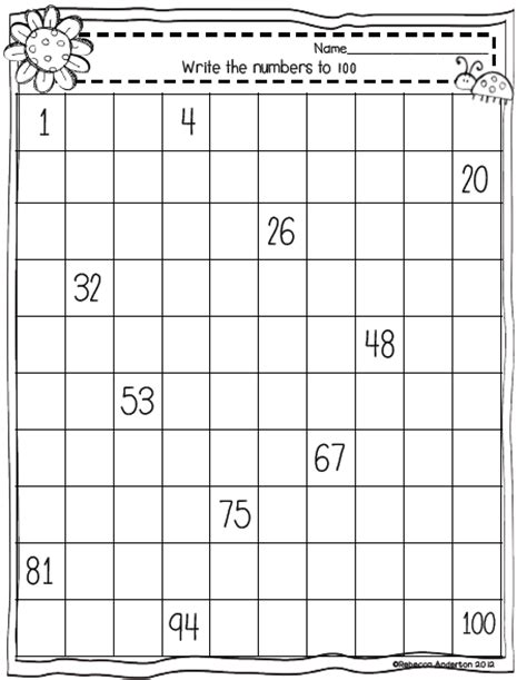 printable hundreds chart missing numbers 28 images 12