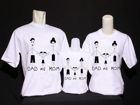 Kaos Imlek Sincia Custom Design Happy Family With 2 Children sribu design kaos distro bertemakan dan family untuk