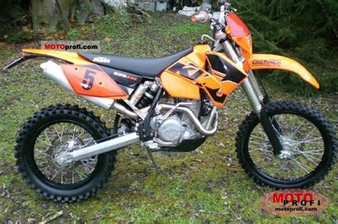 Ktm Sx 525 2004 Ktm 525 Sx Racing Pics Specs And Information