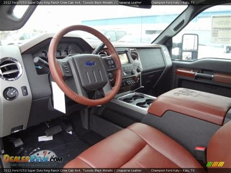 King Ranch F250 Interior by Chaparral Leather Interior 2012 Ford F250 Duty
