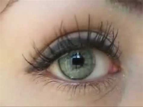 pretty color contact lenses youtube