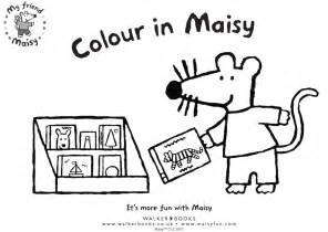 maisy mouse coloring pages coloring