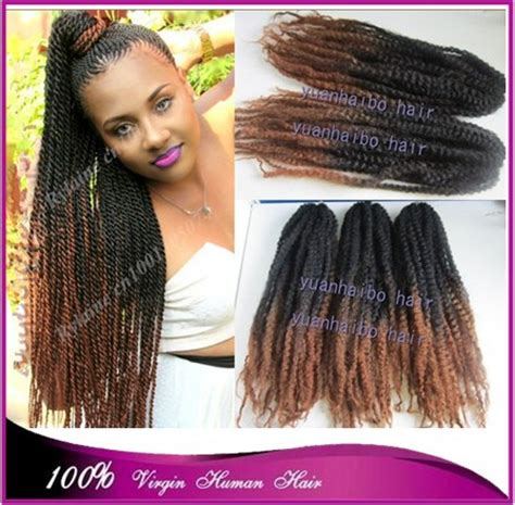 cheap good quality marley hair stock top quality 20 quot black brown ombre marley braid 100