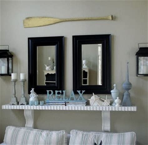 lake house bedroom decor decorating nautical with wooden oars as wall decor rods