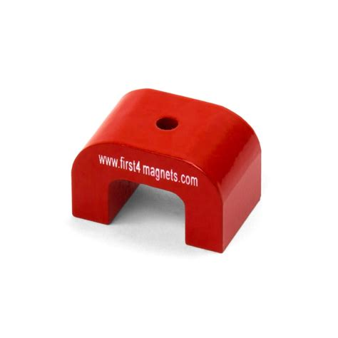 Magnet Puller Grip On 5 small alnico horseshoe magnet 4 5kg pull 30 x 20 x 20mm first4magnets