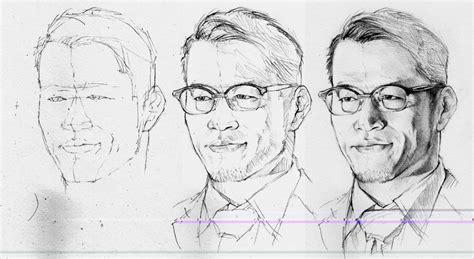 tutorial menggambar sketsa wajah 17 sketsa wajah manusia pria dan wanita koleksi gambar