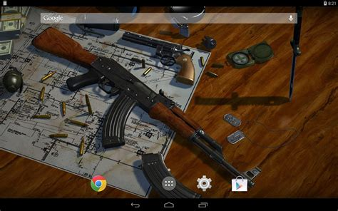 wallpaper for android guns 3d guns live wallpaper android apps on google play