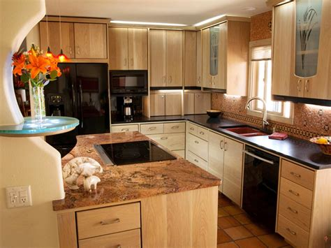 kitchen cabinets and countertops designs neutral granite countertops hgtv