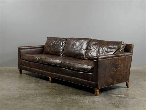 Vintage Leather Sofa French Furniture Vintage Leather Retro Leather Sofa