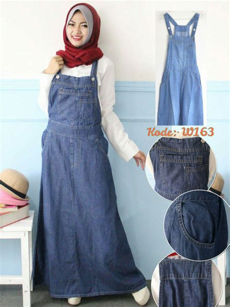 Gamis Tali Pinggang Gad 014 smooth overall w163 baju style ootd