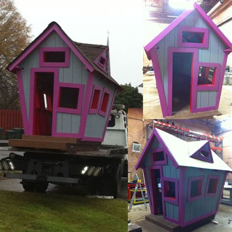 crooked house plans crooked playhouse plans