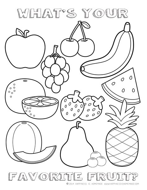 Free Fruit Coloring Pages by Fruit Salad Coloring Pages And Print For Free