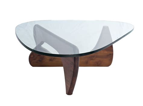 Your Noguchi Coffee Table by Noguchi Coffee Table 19mm Glass Platinum Replica