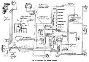complete electrical wiring diagram for 1945 47 chevrolet