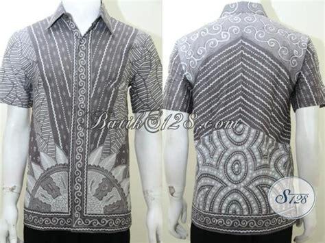 Baju Batik Pria Gaul baju batik unik pria gaul motif sinaran matahari ld2015t m toko batik 2018