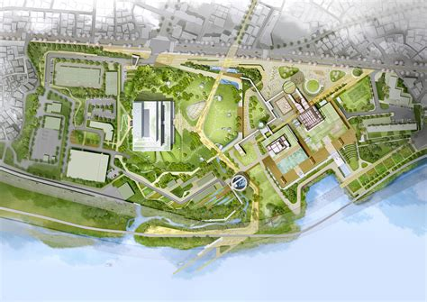 site plan design gallery of haeahn and haenglim take second place in komipo