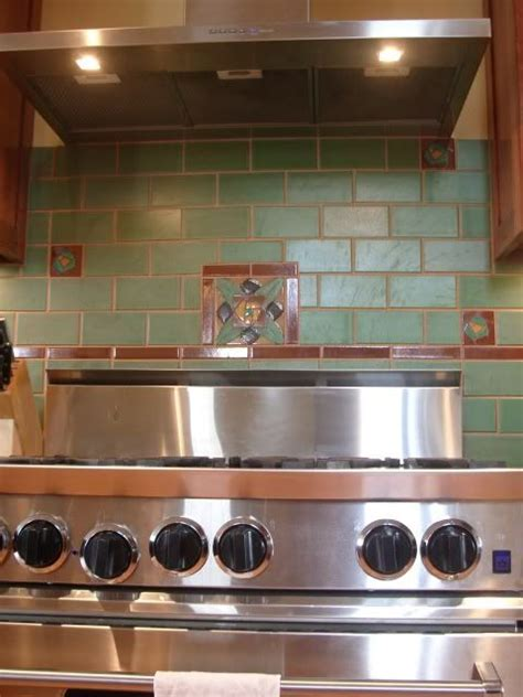 cool tile backsplash home craftsman mission style