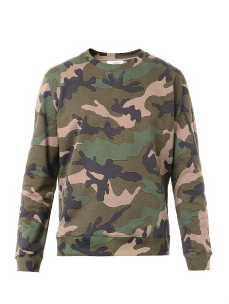 Camouflage Pullover valentino camouflage print sweatshirt where to buy how
