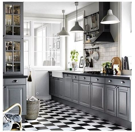 Black And Grey Kitchen Cabinets Best 20 Bodbyn Grey Ideas On Pinterest