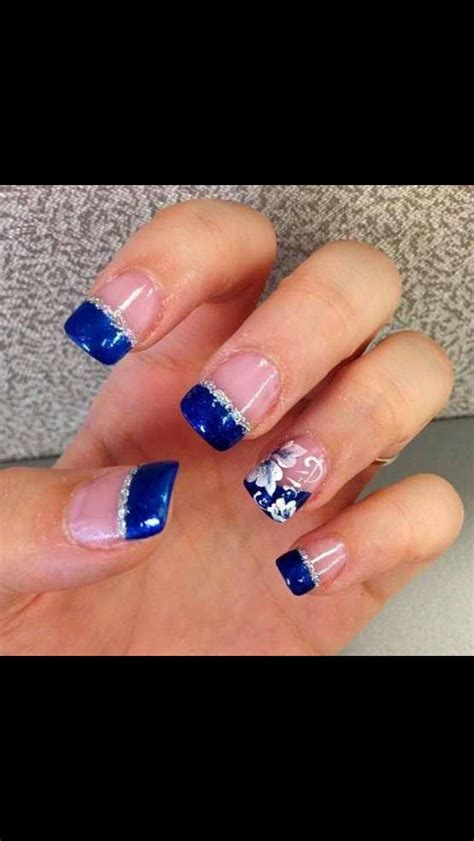 Royal Nails by Best 25 Royal Blue Nails Ideas On Blue Matte