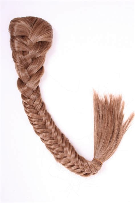 africanplaits with hairpiece clip on straight 22inch synthetic hair piece fishtail
