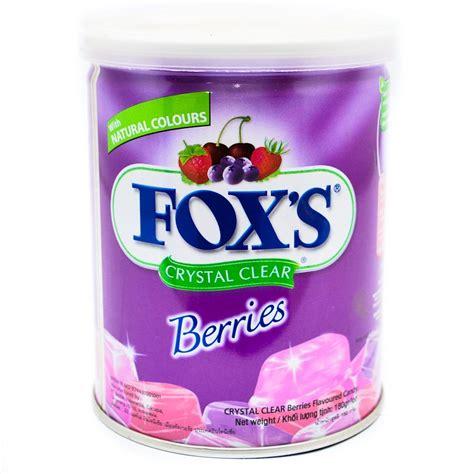 Foxs Berries Bag 90 Gr supplier permen coklat