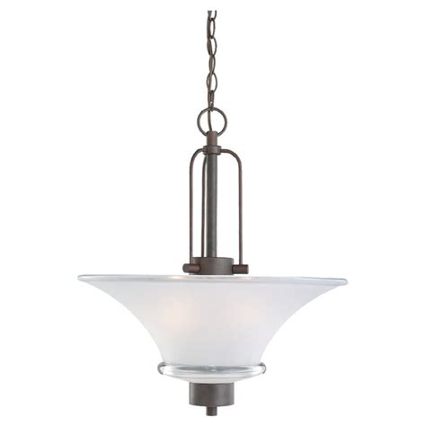 Lowes Kitchen Light Shop Sea Gull Lighting 18 In W Kitchen Island Light With Shade At Lowes