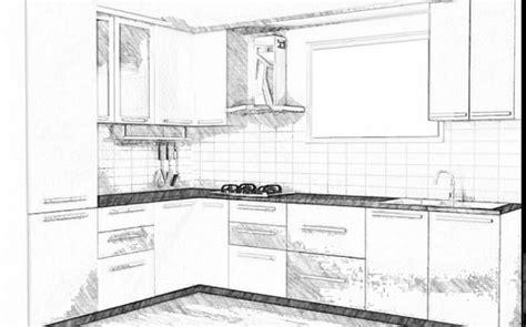 contoh sketsa ruang tamu  ruang dapur minimalis