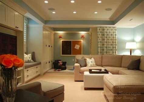 basement living room colours the sectional corea sotropa interior design blue basement playroom with powder blue paint