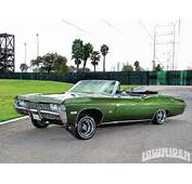 1109 Lrmp 06 O 1968 Chevrolet Impala Convertible Driver Side Front