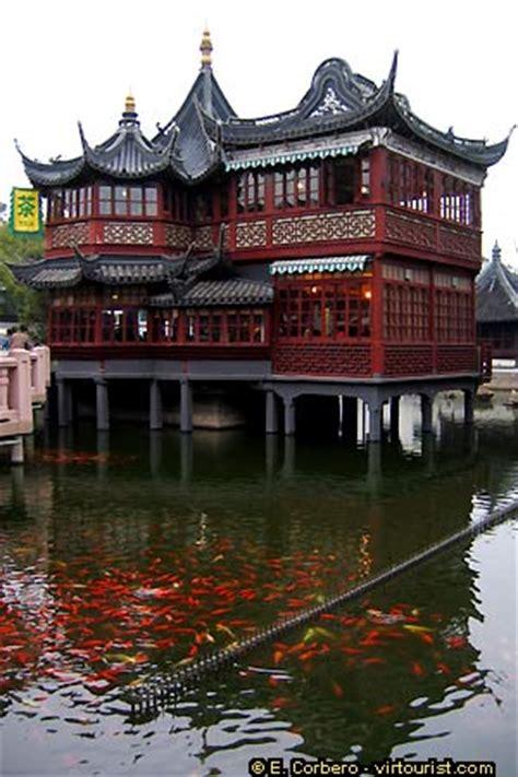 ancient chinese house picture yu yuan gardens shanghai shanghai yuyuan garden teahouse virtourist com shanghai