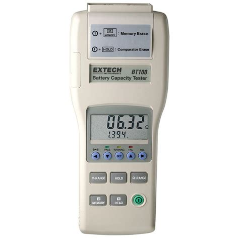 extech instruments battery capacity tester bt100 the