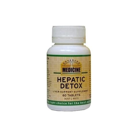 Medication To Help With Detox by Advanced Medicine Hepatic Detox Quantum Wellness