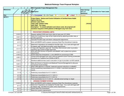 template for a project plan project management plan template free and project