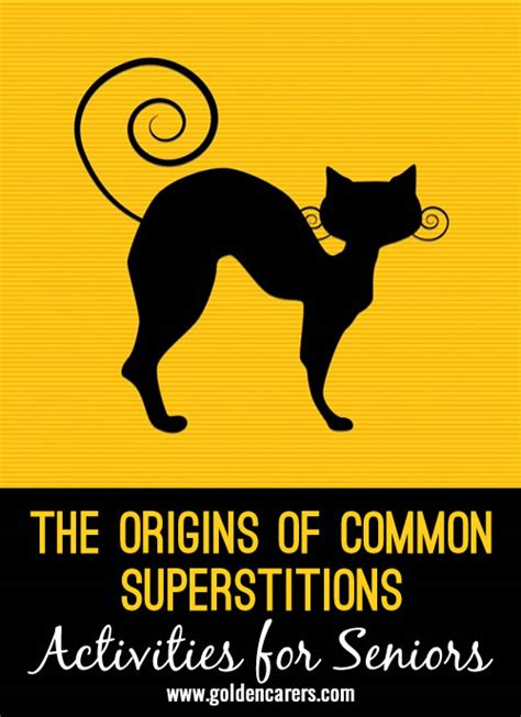 common superstitions common superstitions common superstitions the origins of