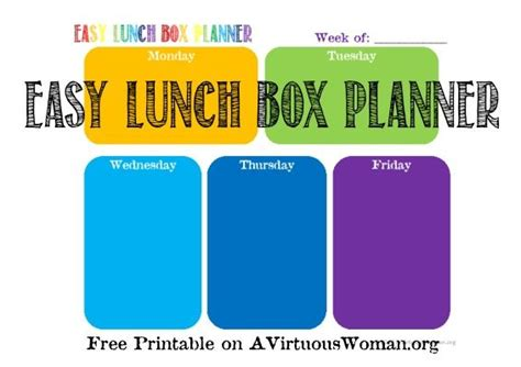 printable kitchen planner add on a virtuous woman 82 best leuke lunchboxen images on pinterest healthy