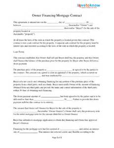 owner financing contract fill online printable