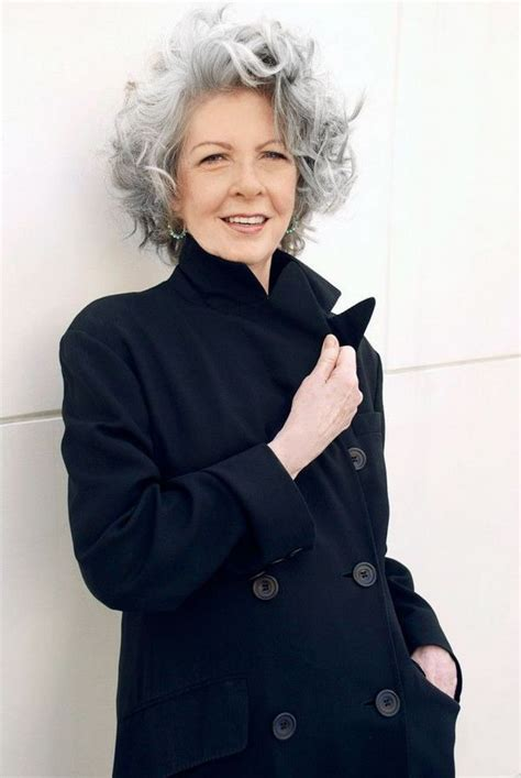 hairstyles for women over 50 with frizzy graying hair hairstyles for women over 50 for a unique and modern